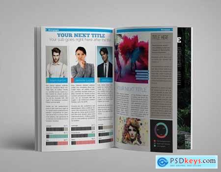 InDesign Newsletter Template105
