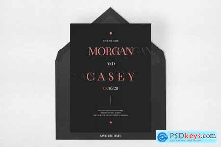 Wedding Invitation Suite - Morsey