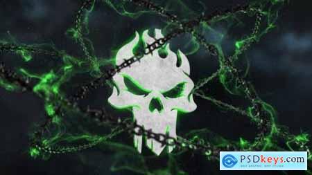 Videohive Dark Chains Horror Logo 25043834