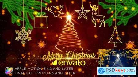 Videohive Christmas Wishes Apple Motion 25012245