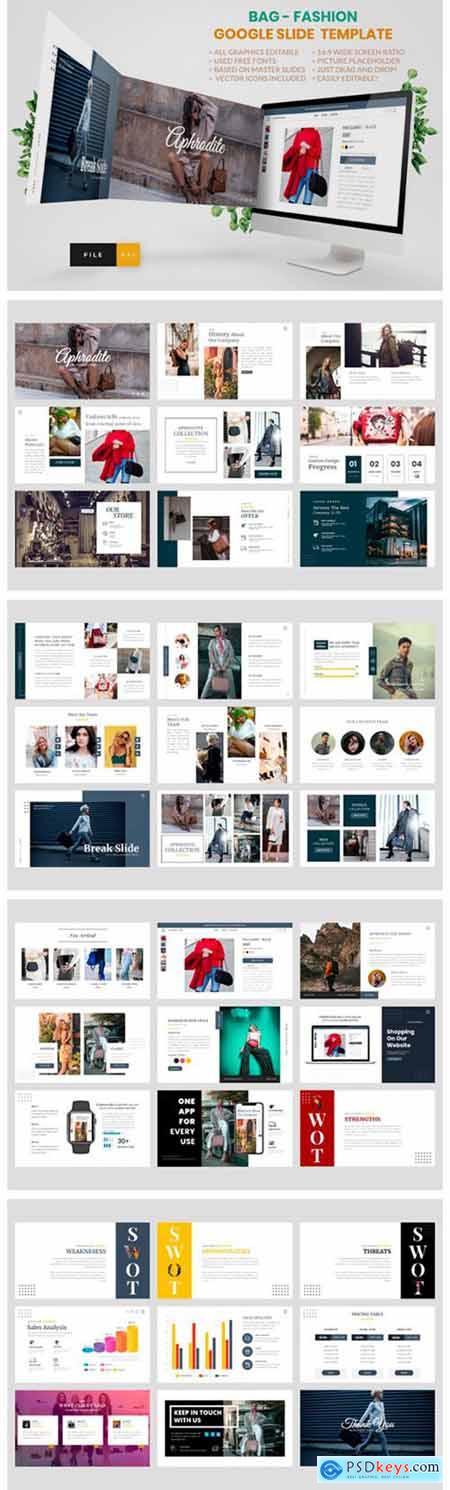 BAG - FASHION Google Slide Template 4277561