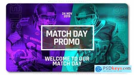 Videohive Match Day Promotional 25036786
