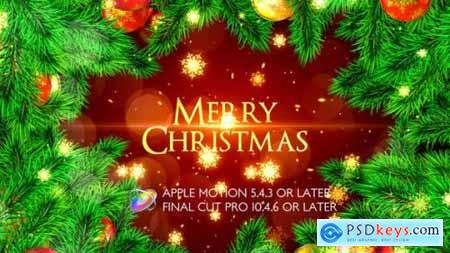 Videohive Merry Christmas Opener Apple Motion 25049197