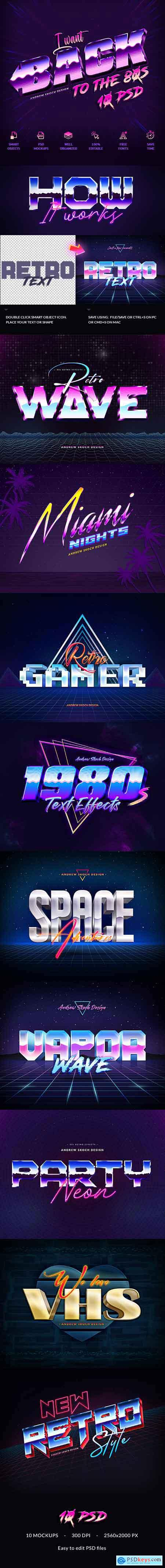 New 80s Text Effects 24925986