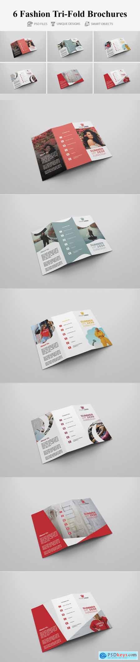 6 Fashion Tri-fold Brochures 4160663