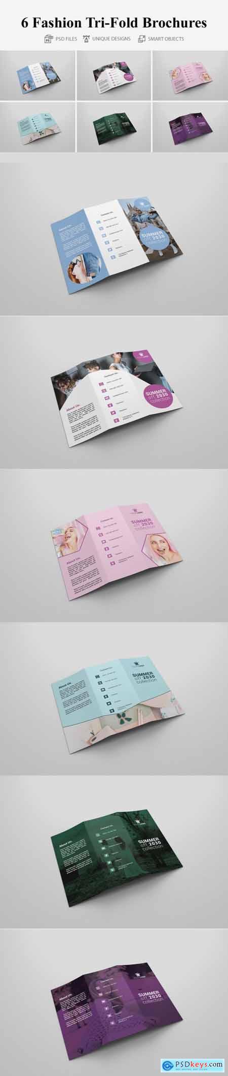 6 Fashion Tri-fold Brochures 4160669