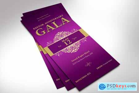 Pastor Anniversary Gala Ticket Word 4078574