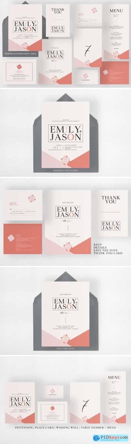Wedding Invitation Suite 2007537