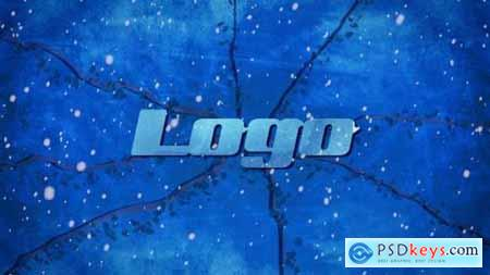 Videohive Winter Ice Logo 25059841