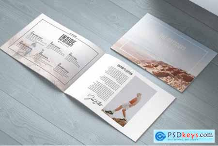 The Outdoors - Travel Magazine Landscape Template