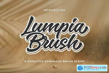 Lumpia Brush Script