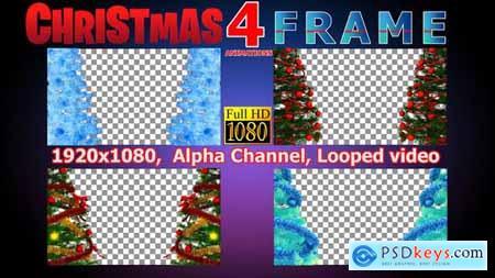 Videohive Christmas Frame 22825590