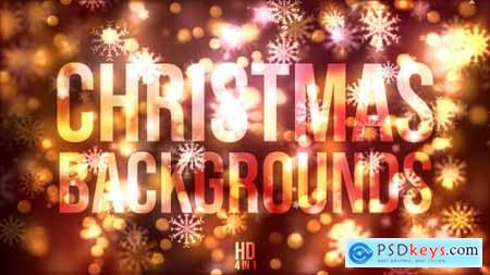 Videohive Christmas Background 22862104