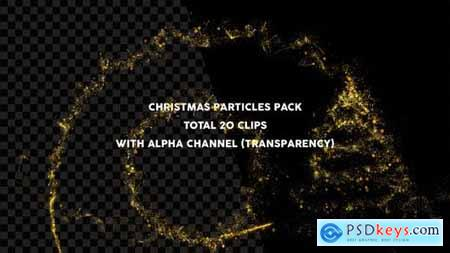 Videohive Christmas Particles Pack 22988844