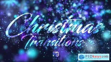 Videohive Christmas Transitions 22909200