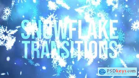 Videohive Snowflakes Christmas 22825785