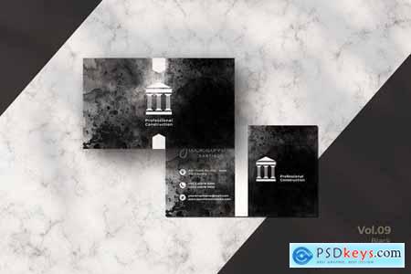 Black Business Card Bundle