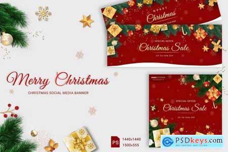 Christmas Social Media Banner