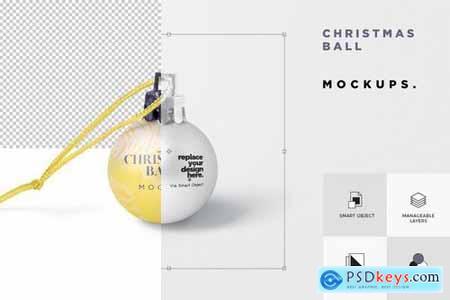 Christmas Ball Mockup Set
