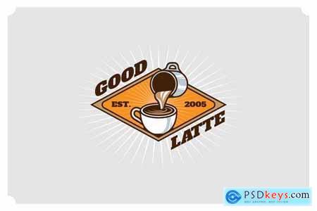 Good Latte - Mascot & Esport Logo