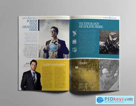 InDesign Newsletter Template520