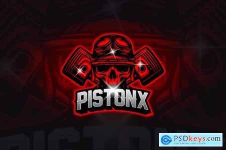 Piston - Mascot & Esport Logo