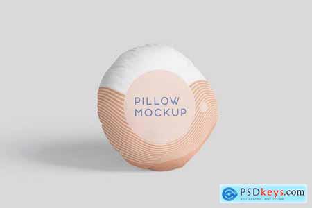 Pillow Mockup Set - Round