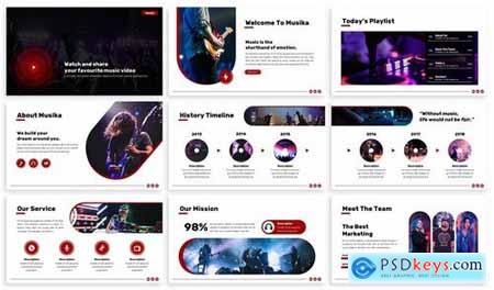 Musika - Music Powerpoint Template