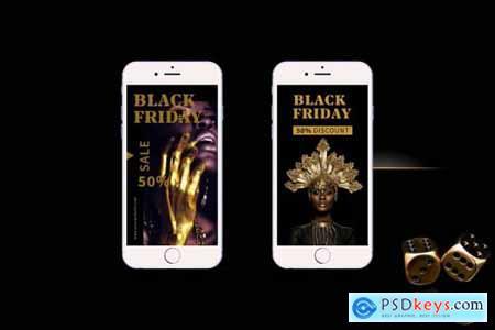 Black Friday - Instagram Stories 4244560