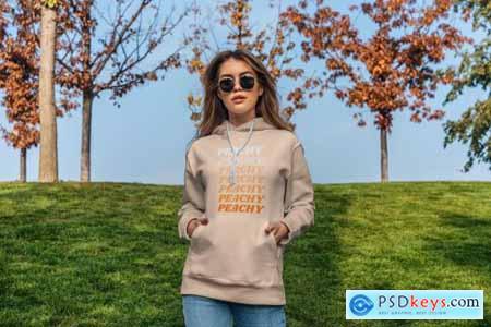 Hoodie Mock-Up Street Fashion 4270446