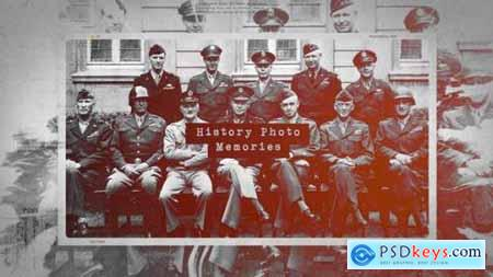 Videohive History Photo Memories 25061502