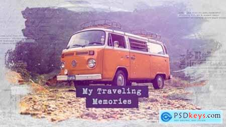 Videohive Traveling Slideshow Memories Photo Album Family and Friends Adventure and Journey 24566977