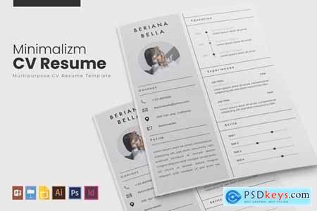 Minimalizm - CV & Resume