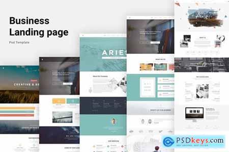 Aries - Multipurpose Creative PSD Template