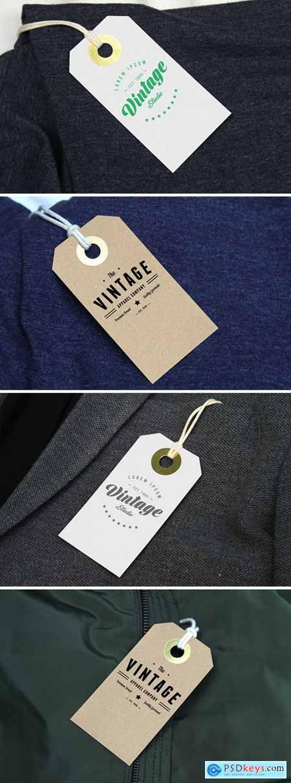 Branding Label Tag Mockup