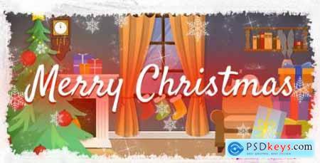 Videohive Merry Christmas Logo 13731486