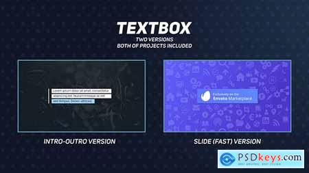 VideoHive Textbox - Title Animations 21106049