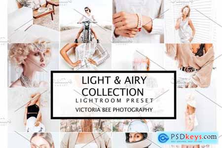 10 LIGHT & AIRY LIGHTROOM PRESETS 4196271