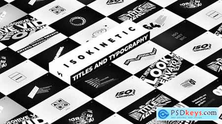 Videohive Isokinetic Titles And Typography 24099586