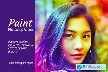 Paint Photoshop Action 4282854