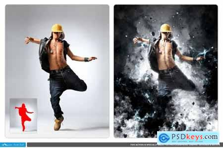 Thundercloud - Photoshop Action 4247697