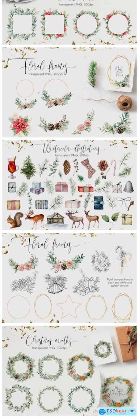 Vintage Christmas Graphic Collection 2013909