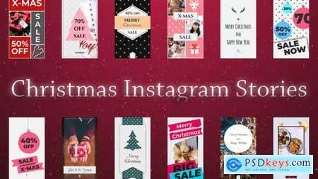 Videohive Christmas Instagram Stories 22880254