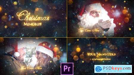 Videohive Christmas Memories Slideshow Premiere Pro 25062971