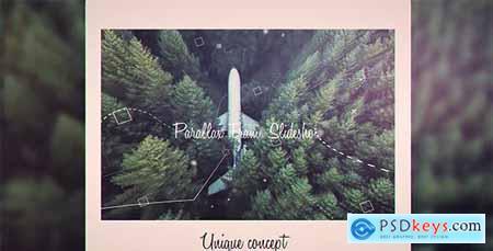 Videohive Parallax Frame Slideshow 21023092