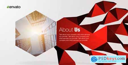 Videohive Corporate Polygon Presentation 19628571
