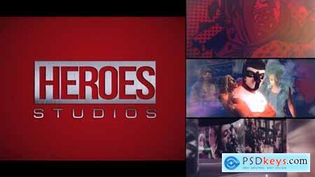 Videohive Heroes Logo Intro V2 24806276