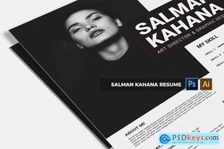 Salman Kahana CV & Resume