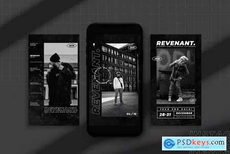 Revenant - Instagram Stories Template