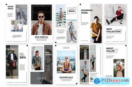 Social Media Story Man Fashion
